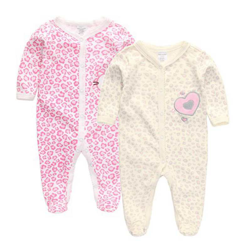 Kiddiezoom Baby Clothes Long Sleeve Cute Cartoon Cotton 0-12 Months Rompers Baby Girls Boy Clothing Set(China (Mainland))