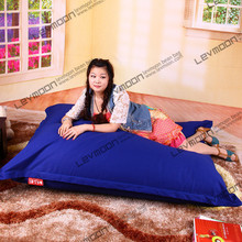 FREE SHIPPING 140*180CM bean bag furniture 100% cotton bean bag chair cover living room bean bag without filling