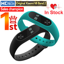 In Stock!!! New Original Xiaomi Mi Band 2 Miband Wristband Bracelet with Smart Heart Rate Fitness Touchpad OLED Screen 2016!!!(China (Mainland))