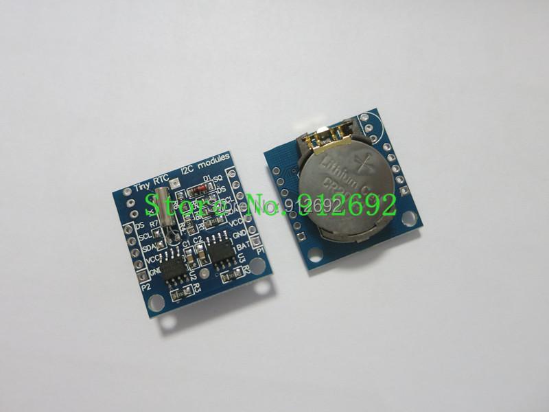 Электронные компоненты Module I2C RTC DS1307 AT24C32 51 AVR DS1307 module электронные компоненты a digital 5pcs enc 03mb analog gyroscope module