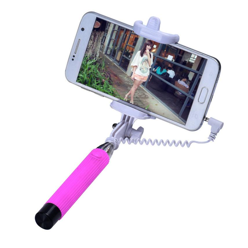 Free Shipping Extendable Handheld Selfie Stick Self-Pole Tripod Monopod Stick For Smartphone<br><br>Aliexpress