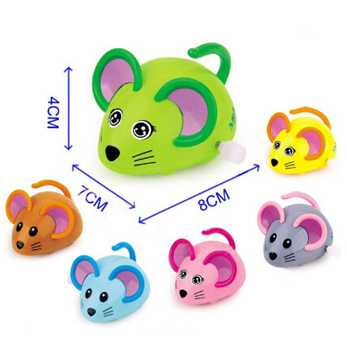 Free shipping, Classic wind up toys wind up small mouse chain mouse Wind-up toy for kids Wholesale(China (Mainland))