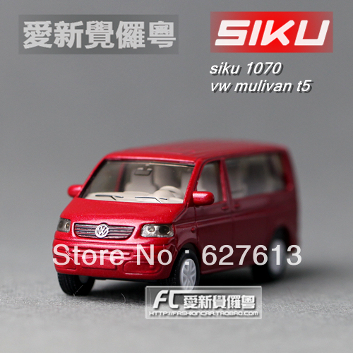 Wholesale!FREE SHIPPING!(10pieces) 100% Brand New car's model/Delicate toy car in bulk vw t5 mpv van red alloy model toy car
