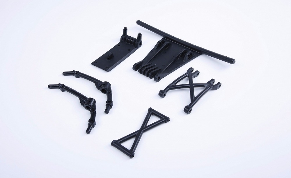 Rovan RC CAR parts 1/5 scale gas rc baja new products Strong Plastic 5B Upgrade to 5sc TRUCK Front Bumper kits 85267(China (Mainland))