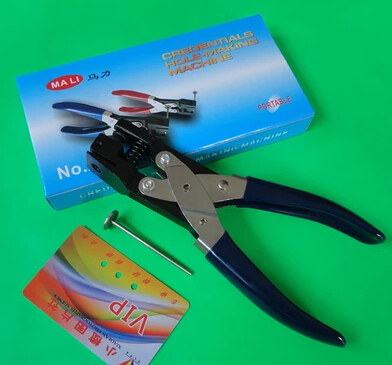 Manual card punch  Mobile phone film and PVC Card drilling machine Hole drilling machine