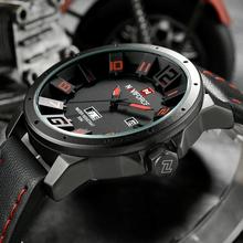 Zegarek męski NAVIFORCE luksusowy sportowy styl różne kolory