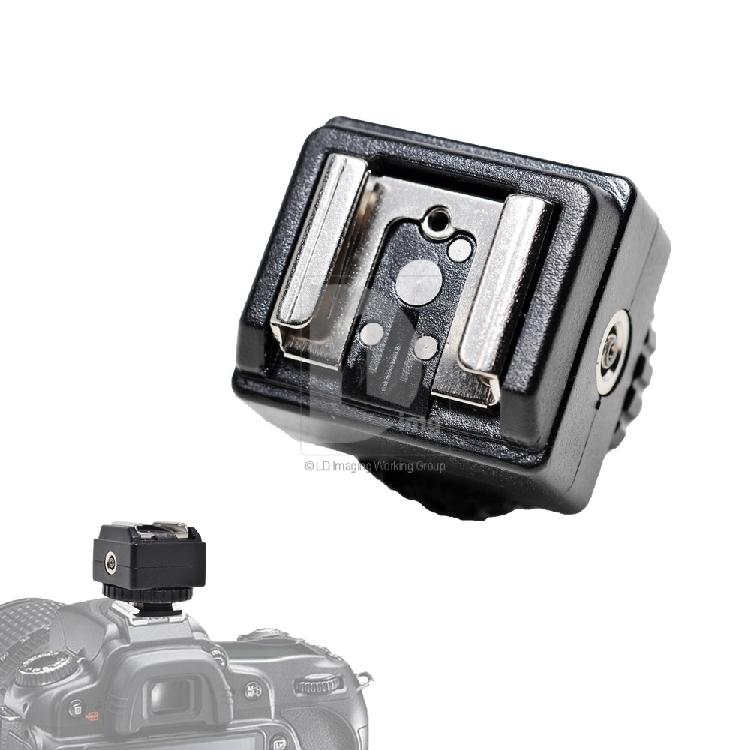 New Flash Hot Shoe Adapter for Canon Camera to Nikon Flash PC Socket C-N2(China (Mainland))