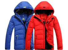 Helly Hansen Jackets Mens Winter Warm Goose Down Jacket Waterproof Jackets Outdoor Sport Snowboard Suits Helly Hansen Jackets