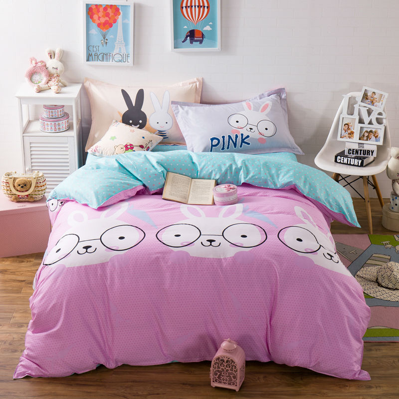 Wholesale Fashion Style Pattern Bedding Sets 100 Cotton Linens Twin