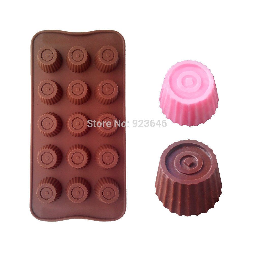 Free Shipping New Cap Chocolate Mold Silicone Mold Cake Decorating Tool Fondant Cake CupcakeGX-Q(China (Mainland))