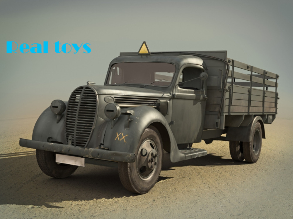 New Arrivial! ICM model 35413 1/35 G917T (1939 production), German Army Truck plastic model kit(China (Mainland))