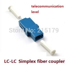 LC-LC The telecommunication level LC simplex fiber coupler optical fiber connector adapter flange