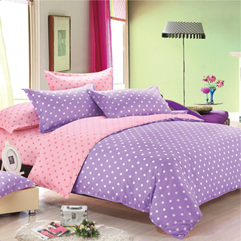 Green purple bedding promotion shop for promotional green for Housse de couette in english