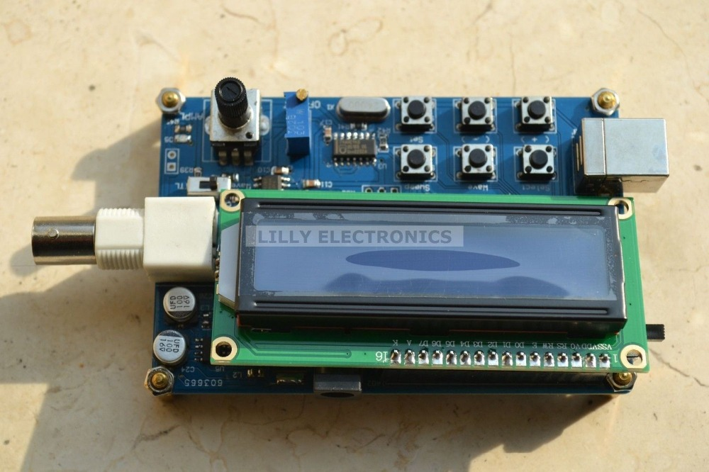 MWG05 1Hz - 5MHz DDS Signal Generator Source Module TTL Output with Sweep Scan(China (Mainland))