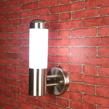 Art Craft Stainless Steel LED Aisle Wall Sconce Outdoor LED Spot Lights Wall Lamp Acrylic E27 Garden Yard Fixture Light IP65(China (Mainland))