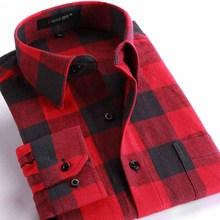 Stylish Fashion Casual Black White Plaid Mens Long Sleeve Slim Fit Dress Shirts Multicolors Plaid Size: M-XXXL Big Size 6 Colors