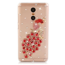 Buy Xiaomi redmi note 4 pro case luxury rhinestone cover xiaomi redmi note 4 pro hard plastic case diamond protective back cases for $4.74 in AliExpress store