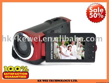 Free shipping DV-20 DV Camera DV-20,with 5.0MP Interpolation,3.0MP CMOS Sensor 2.4 TFT LCD,TV Out Supported