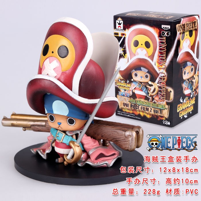 free shipping one piece chopper doll lovely toy birthday gift with box(China (Mainland))