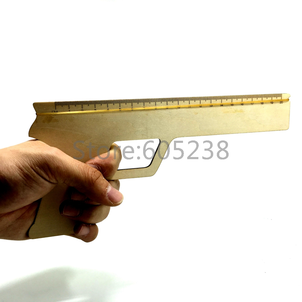 EMS Free Shippingh Wholesale 300Pieces Creative Rubber Band Ruler Gun Office Mcgraw Rubber Band Shooter Novelty Rulers(China (Mainland))