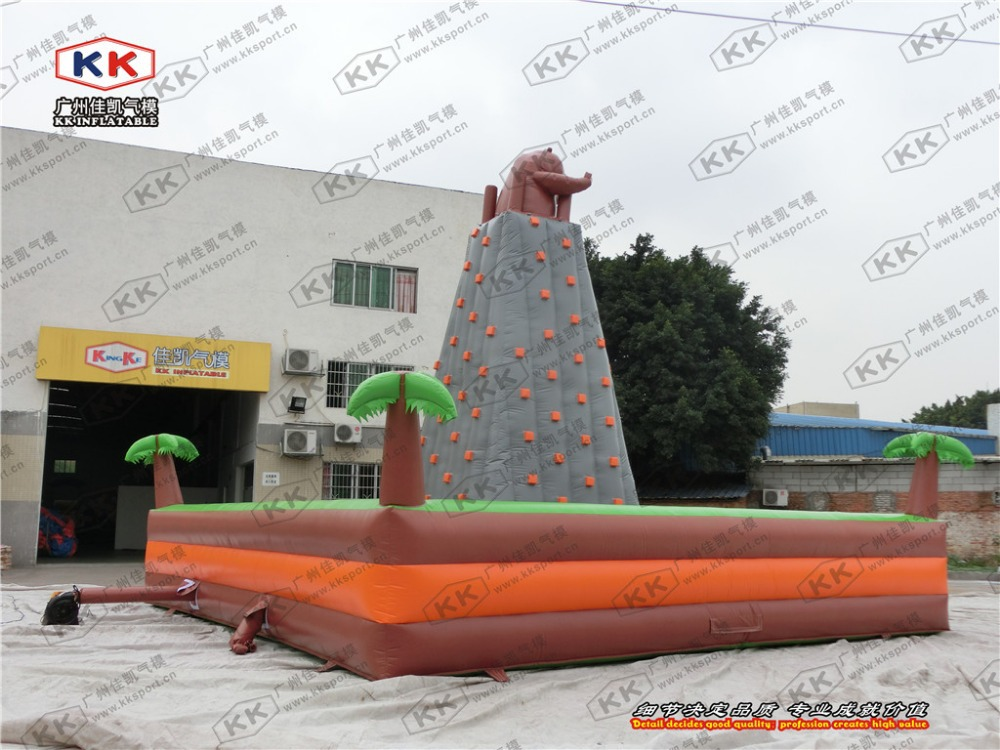 Best Selling Jungle Inflatable Climbing Rock / Sport Facility/ inflatable Floating Rock(China (Mainland))