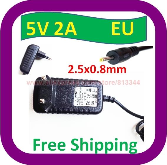 AC 100V-240V Converter Adapter DC 5V 2A Power Supply EU Plug 2.5mm x 0.7mm - ShenZhen XINYUAN Technology Co., Ltd. store