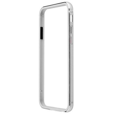 product Silver Slim Design Aluminium Alloy Silicone Protective Frame Case for iPhone 6 Plus iPhone6 i6 Plus - 5.5 inches