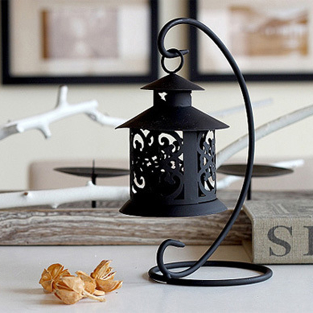 Wedding Decoration Iron Moroccan Style Candlestick Candleholder Candle Tea Light Holder Home