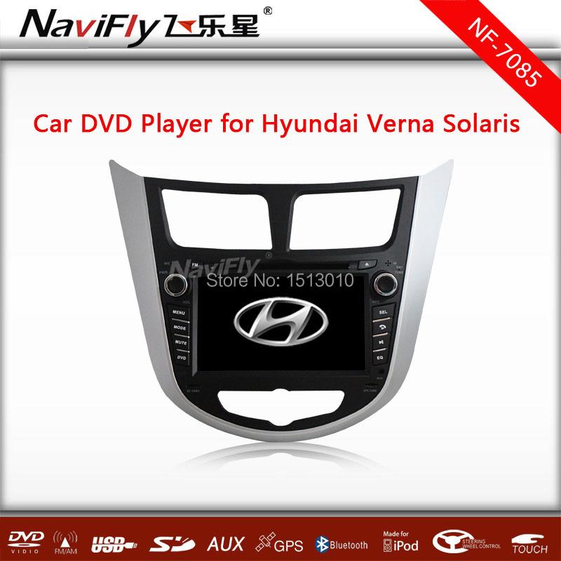 Factory price!+CAR DVD PLAYE Hyundai Verna Solaris DVD,RADIO,GPS,BT,IPOD,USB,full fucntions+free map! - TAOBAO FOR CAR AUDIO store