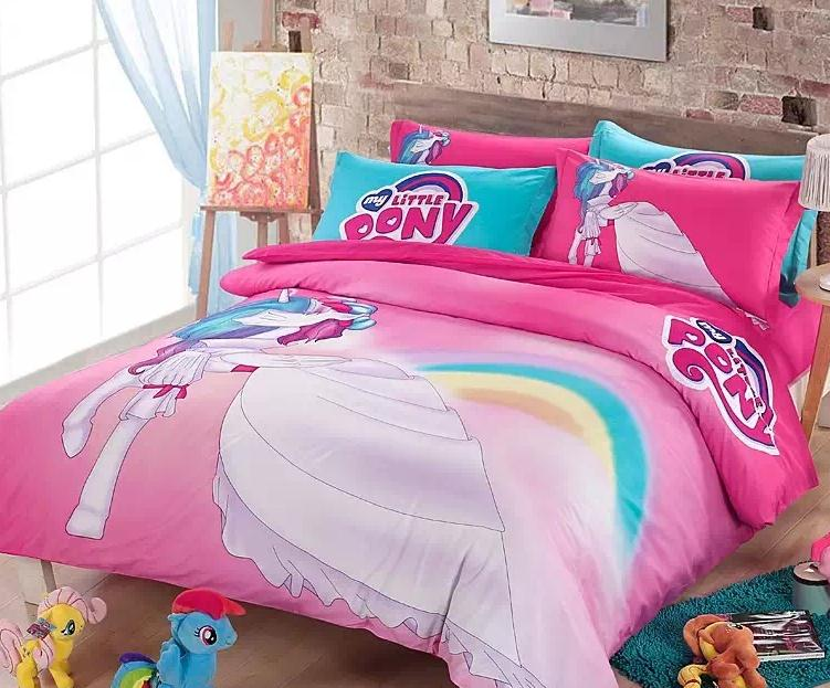 My Little Pony Quilt Cover - Quilting