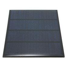 Excellent  quality 12V 1.5W  Epoxy Solar Panels Mini Solar Cells Polycrystalline Silicon Solar DIY Solar Module