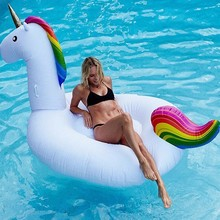 popular Inflatable Unicorn Giant Pool Float Swimming Float For Adult and kid Tube Raft Kid Summer Water Fun Pool Toy