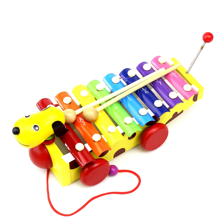 New arrival A20 Hot Wooden Children early Childhood Educational Toys Baby Knock Piano Gift VB803 T15(China (Mainland))