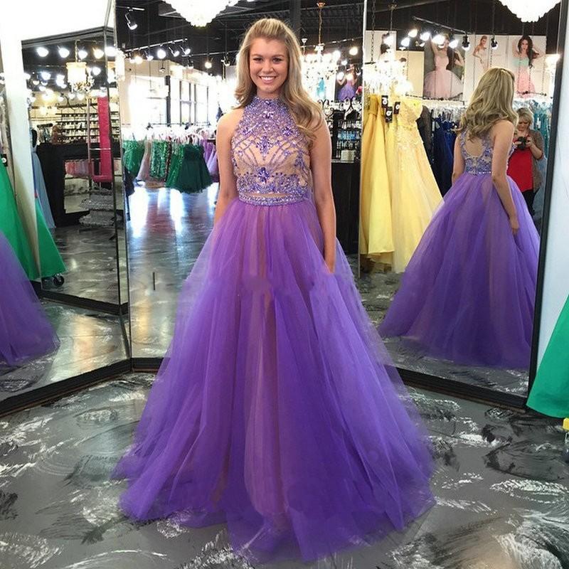 Thot Prom Dresses Purple