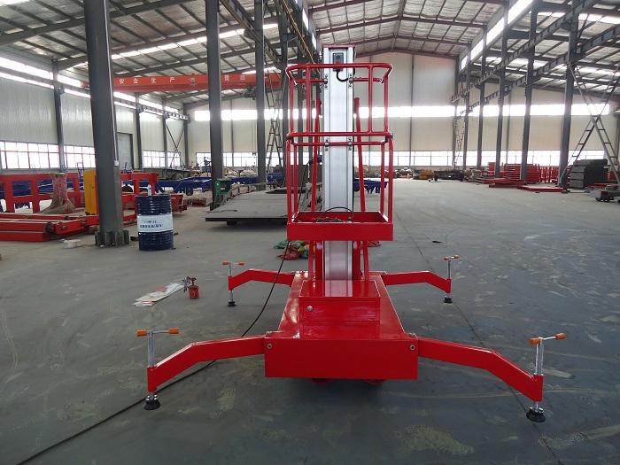 Chinese popular Single Mast Aluminium Lift YBC0.1-4(China (Mainland))
