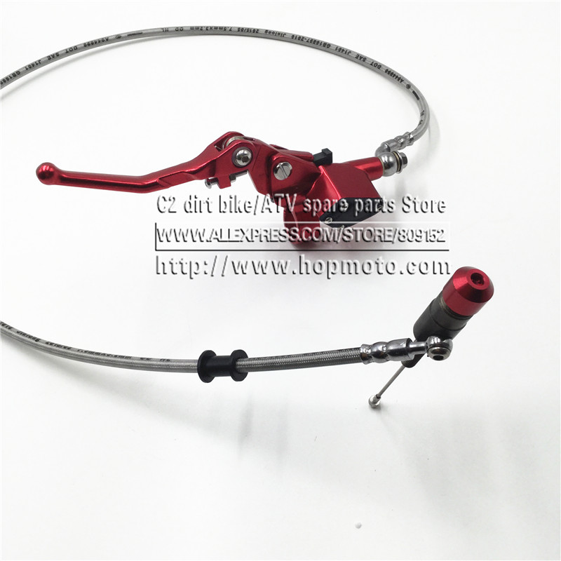 Hydraulic clutch 1200mm lever master cylinder for125 250cc Vertical font b Engine b font Off road