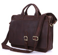Nesitu Vintage 100 Real Genuine Leather Men Messenger Bags Cowhide Briefcase 14 Laptop Portfolio M6020