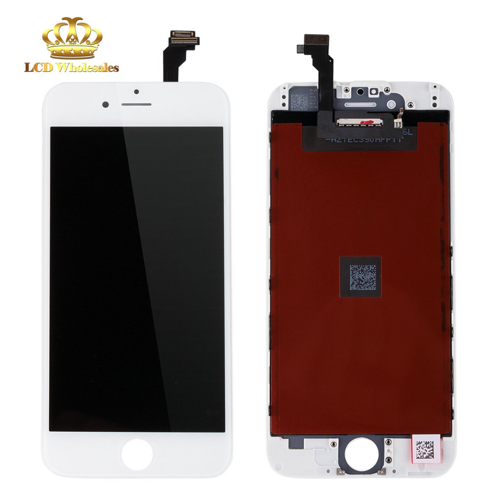 cheapest china mobile phone in india White&Black LCD Display Digitizer with Free Tools Free Shipping for iphone 6 lcd assembly(China (Mainland))