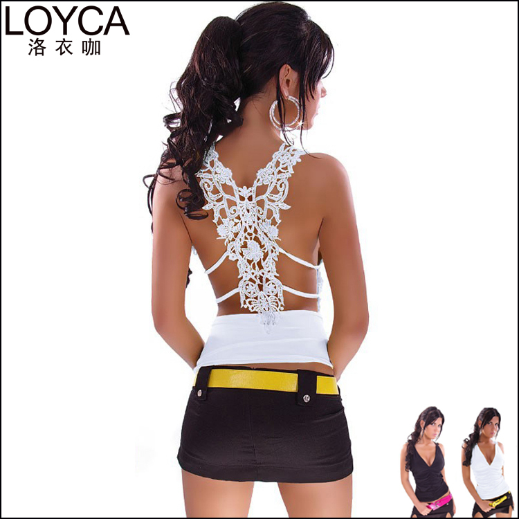 LOYCA Fashion Party Clothing Women Sexy Tank Top 2015 New Summer Lace Crop Top Feminine Bralet Plus Size Vest Top Women Camisole(China (Mainland))