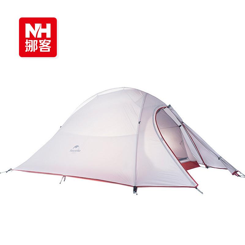 1.24KG Naturehike outdoor waterproof ultralight tent 2 person double layer 4 season travel camping tent equipment china barraca