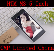Free Shipping HTM M3 5 Inch MTK6572 Dual Core Android 4.2 Touch Screen 512MB/4GB 5MP Dual Sim 3G GPS WIFI Mobile Phone(China (Mainland))