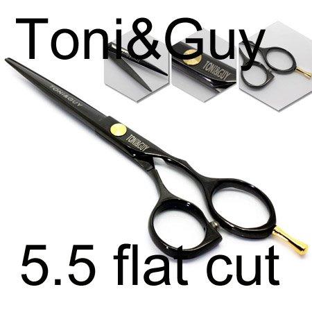 free shipping, 5.5 inch flat cut fine, barber scissors, hairdressing scissors, hair tool, haircut, hair cutting scissors, s6BA4(China (Mainland))