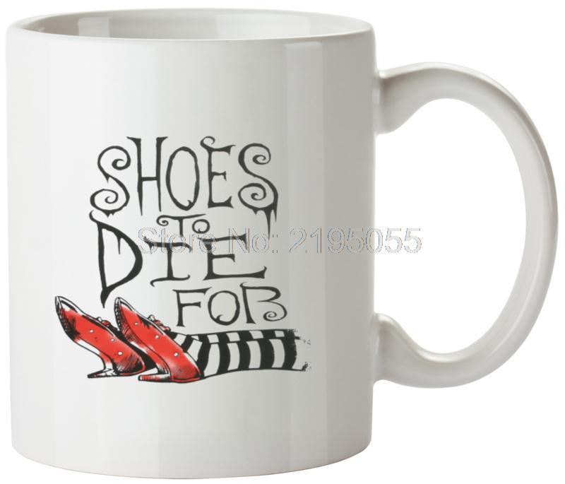 Oz Wicked Witch Shoes Funny Coffee Mug Ceramic mug travel mug(China (Mainland))
