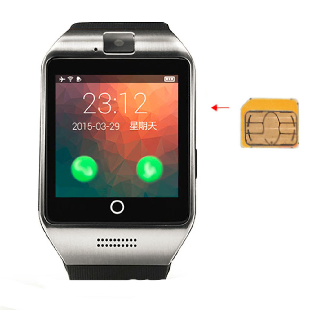 New Bluetooth Smart Watch Waterproof Apro Smartwatch Support NFC SIM Card 1.3M Camera Android Samsung ios iPhone men
