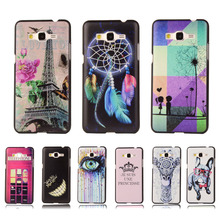 Ultra Thin Cartoon Hard Cover For Samsung Galaxy Grand Prime G530 G5306 G530H G5308W Colorful Printing Plastic Back Phone Case