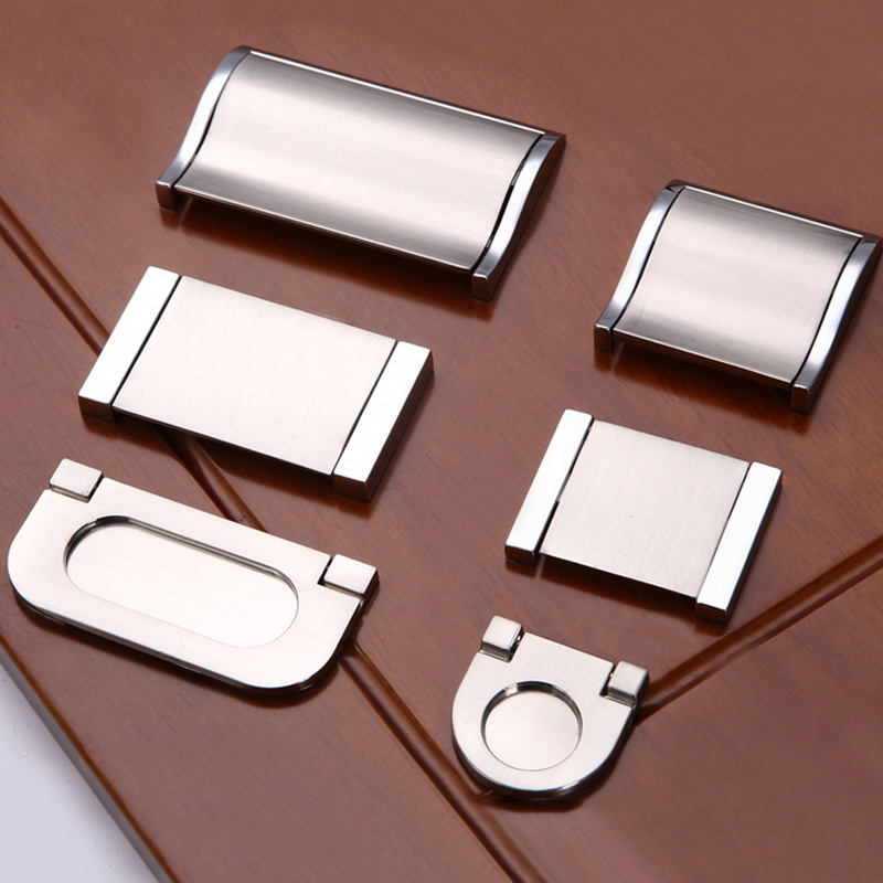 Drawer pull hands sliding door knobs hidden Recessed Pating window handles Surface Mount(China (Mainland))