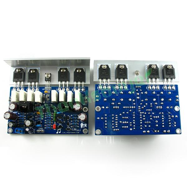 LJM-Audio Hi-end L20 200W 8R V9.2 Audio Stero Power Amplifier Board with Angle aluminum (Assembled Amp board,include 2 bobards)<br><br>Aliexpress