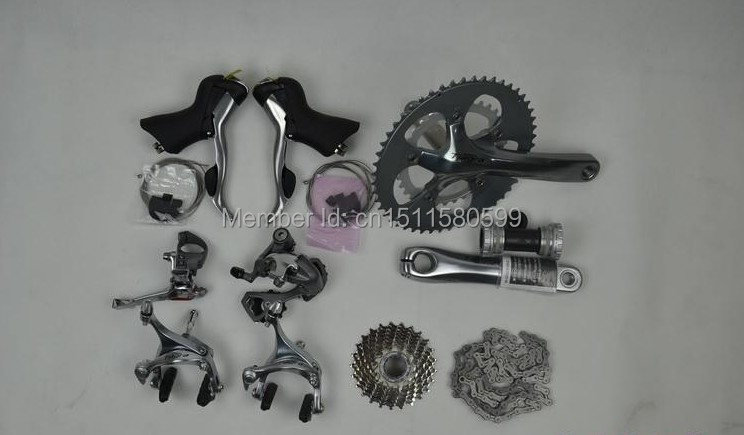 ROAD groupsets 4800 cheap bicycle groupset race cycling carbon bike groupsets sram force/campagnolo bike groupset(China (Mainland))