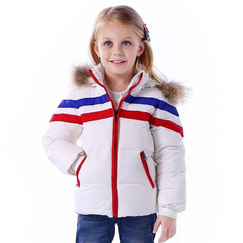 Winter Jacket For Toddler Girls Hooded Thick Children Boys Girls Down Jacket Baby Boy Snow Wear 1-3 Years Infant Outerwear Coats<br><br>Aliexpress