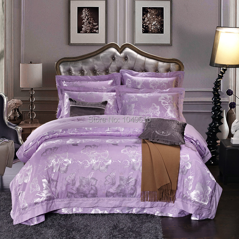 Christmas Sale Queen Size Noble Silk Cotton Comforter Set Bed Sheet Bedding Sets 100 Cotton